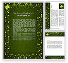 Irish Theme Word Template #06857 - small preview