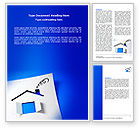 Real+estate+appraisal: House Window Word Template #07167
