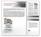 Careers/Industry: Building Foundation Word Template #07194