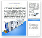 Financial/Accounting: Real Estate Agency Word Template #07508