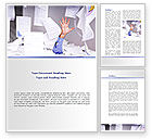 Old+paper: Drowning in Paper Word Template #08437