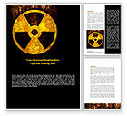 Military: Radioactivity Word Template #08649