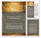 Old+paper: Old Parchment Word Template #09181