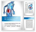Cliparts-features: Lumbar Spine Word Template #10035