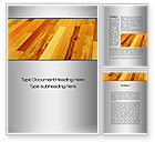 Cliparts-features: Parquet Word Template #10069