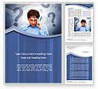 Education & Training: Poser Word Template #10263