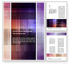 Abstract Squares Word Template