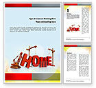Real+estate+appraisal: Building Home Concept Word Template #10852