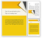 Old+paper: Folded Paper Word Template #11826