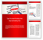 Business Concepts: Answer to Questions Word Template #13015