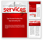 Careers/Industry: Developing a Perfect Services Word Template #14160