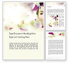 Careers/Industry: Beauty Parlor Word Template #14165