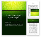 Abstract/Textures: Green Gradient Mosaic Word Template #14179