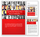 People: Diverse People Word Template #14230