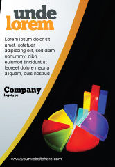 Financial/Accounting: Pie Chart Ad Template #02458
