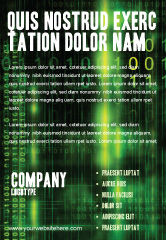 Matrix Code Sale Poster Template in Microsoft Word ...