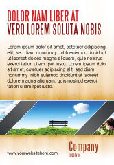 Nature & Environment: Bench Ad Template #05275