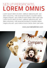 Education & Training: Kids and Science Ad Template #06059