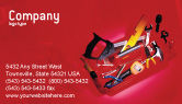 Utilities/Industrial: Tools Box Business Card Template #01734