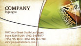 Utilities/Industrial: Chemical Hazard Business Card Template #02091
