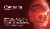 Oil+and+gas: Red Fantasy Business Card Template #03749