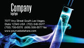 Technology, Science & Computers: Industrial Chemistry Business Card Template #03927