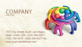 Consulting: Solidarity Business Card Template #04594