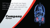 Medical: Kidney Business Card Template #06769