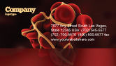Medical: Blood Thrombus Business Card Template #07309