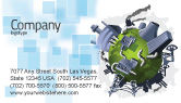 Utilities/Industrial: Pollution Control Business Card Template #07574