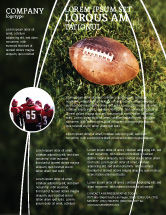 Sports: American Football Play Off Flyer Template #01674