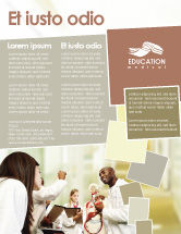Education & Training: Anatomical Theatre Flyer Template #01886