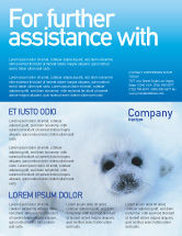 Agriculture and Animals: Fur-Seal Flyer Template #02230