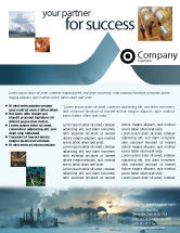 Snow+removal: Power Station Flyer Template #02362