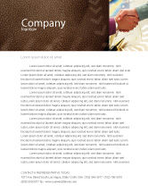 Business: Signing Agreement Letterhead Template #00925