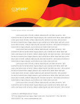 Flags/International: German Flag Letterhead Template #01837