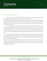 Agriculture and Animals: Corn Letterhead Template #01882