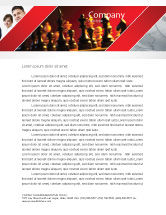 Sports: Strategy Game Letterhead Template #03405