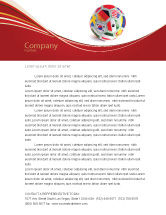 Sports: World Cup Letterhead Template #03743