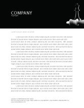 Sports: Checkmate Letterhead Template #04754