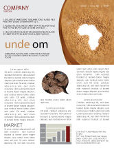 General: African Famine Newsletter Template #04841