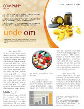 Medical: Capsules Newsletter Template #04855
