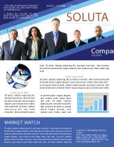Business: Business Professionals Newsletter Template #05332