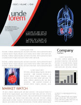 Medical: Kidney Newsletter Template #06769