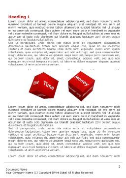 Risk Management Word Template First Inner Page