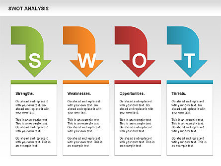 SWOT Analysis Process Diagram Slide 11