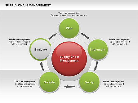 Supply Chain Management Diagram Slide 10