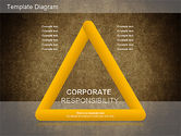 Business Models: Corporate Responsibility Diagram #01157