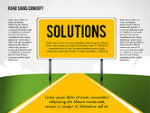 Big+ben: Business Words on Road Signs #02094
