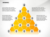 Infographics: Pyramid Style Network Infographics #02660
